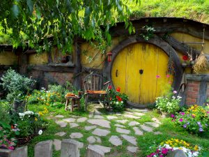 First Hobbit Hole