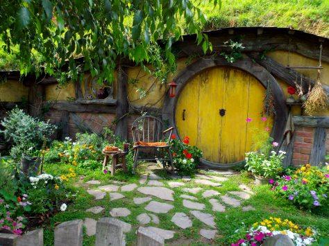 First Hobbit Hole