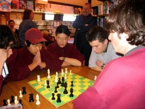 My college's chess tournament. (I was runner-up.)