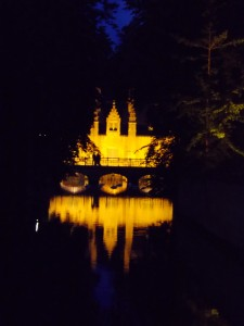 Bruges... it's like a f*****g fairytale or something.