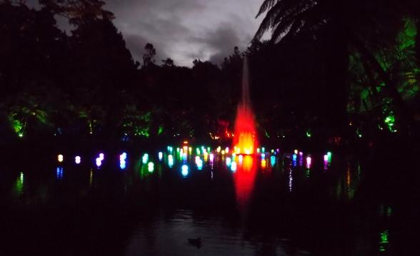 Festival of Lights, Pukekura Park, New Plymouth, Taranaki, New Zealand
