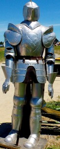 Suit of Armour, Tauranga Medieval Faire, New Zealand