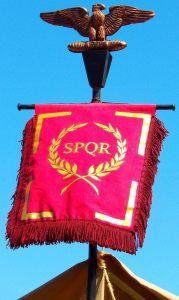 Roman Standard, Tauranga Medieval Faire, New Zealand