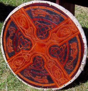 Celtic Cross Shield, Tauranga Medieval Faire, New Zealand