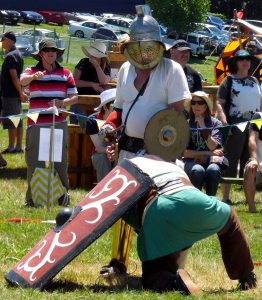 Gladiators, Tauranga Medieval Faire, New Zealand