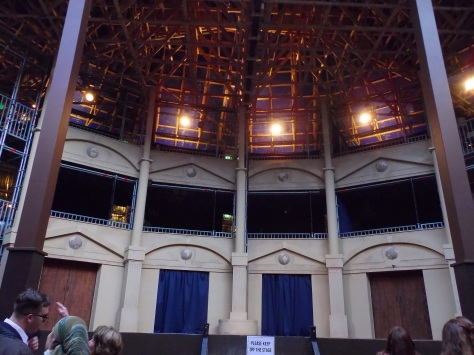 Pop Up Globe Stage Auckland Shakespeare