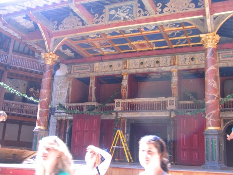 Shakespeare's Globe Stage London