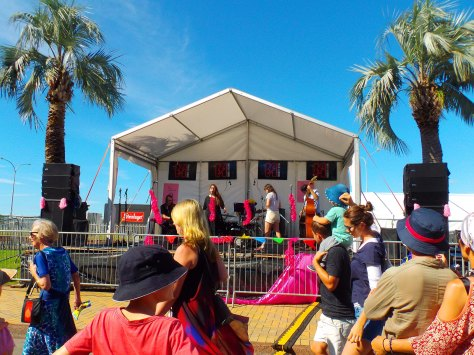 At the Tauranga Jazz Festival 2016