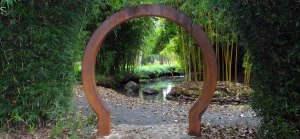 Chinese Archway, Taitua Arboretum, Hamilton, New Zealand