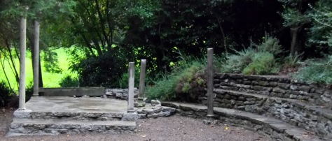 Classical Temple Folly, Taitua Arboretum, Hamilton, New Zealand