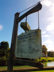 Waiuku Weather Stone