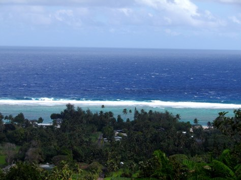 View from Highland Paradise, Rarotonga