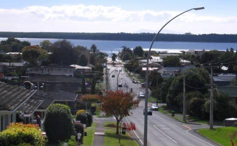 A Street in New Zealand
