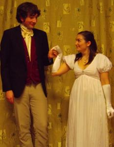 Jane Austen Regency Ball Costume 3