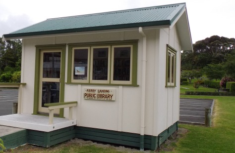Ferry Landing Library, Whitianga, Coromandel, New Zealand