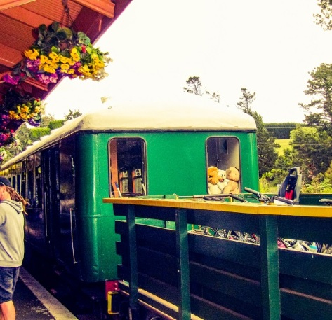 Goldfields Historic Railway, Waikino Station