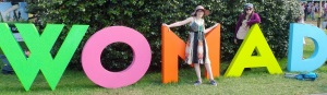 WOMAD Sign