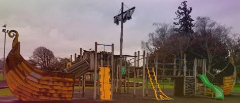 Dannevirke Playground Viking Longship
