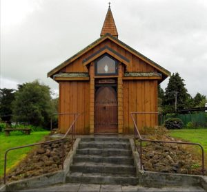 Stavkirke in New Zealand