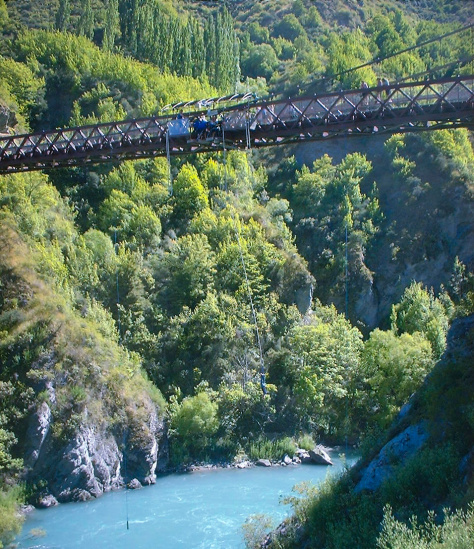 Bungy Jumping, New Zealand