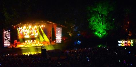 Tree Lights WOMAD