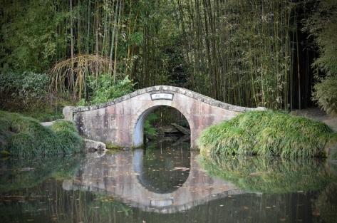 chinese bridge hamilton gardens