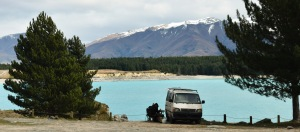 lake pukaki campervan