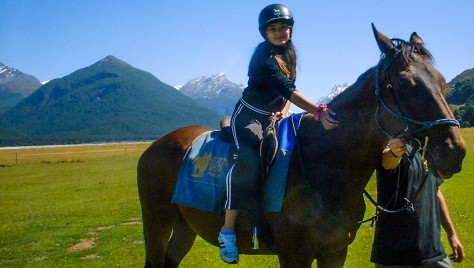 horse riding glenorchy